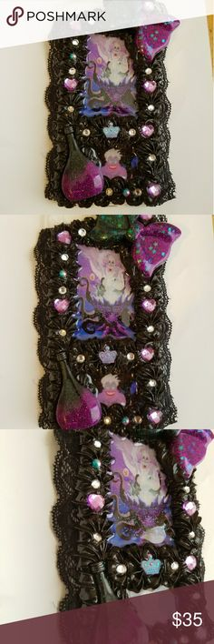 The little mermaids Ursula iPhone 8 plus case The little mermaids Ursula iPhone 8 plus custom decoden whipped phone case Handmade by me, new without tags handmade Accessories Phone Cases
