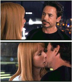 TONY: I thought we were having a moment.  PEPPER: I was having 12% of the moment.