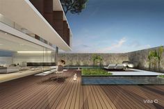 jesolo lido pool villas by jm architecture