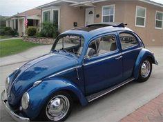 1963 Rag Top Volkswagen Bug