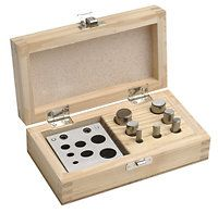 Fancy Shaped Disc Cutter Sets in Wood Box | OttoFrei.com  175.00