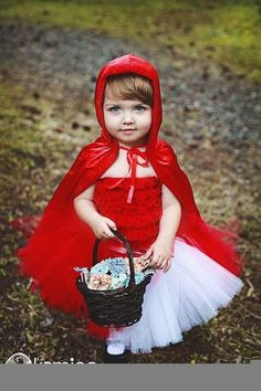 Hey there little Red Riding Hood...So cute!!!