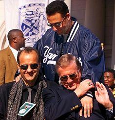 Joe Torre, Derek Jeter, George Steinbrenner <3