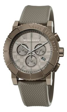 Men's Wrist Watches - Burberry Mens BU2302 Trench Chronograph Brown Chronograph Dial Watch *** Visit the image link more details.