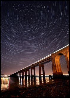 The Tay Rail Bridge in Dundee. You can find #Patépaté at Sainsbury's on Tom Johnston Road