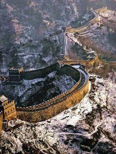 La muralla china. #DestinationChina