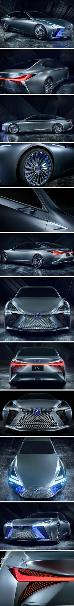 The LS+ Concept embodies all that Lexus envision for the future of autonomous driving. With its edgy, clean sedan appearance, the LS+ Concept is also packed to the brim with state-of-the-art tech to ensure the passengers can have a safe, smooth and fun drive at all times.