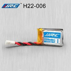 JJRC H22 RC Quadcopter Spare Parts 3.7V 220MAh 25C Battery    	Description:  	Item name: JJRC H22 RC Quadcopter Spare Parts Battery  	For JJRC H22 RC Quadcopter 	Dimension:22.4x 17.6 x7.2  	   	Package Included:  	1x 3.7V 220MAh 25C battery