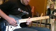 Martin from www.riffstation.com playing the solo from Warheads from Extreme On an Ibanez Guitar.