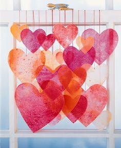 valentine's day DIY craft crayon hearts
