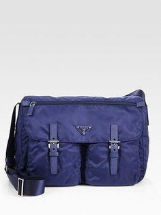 1506ebaa49c Prada Messenger Bag... perfect for work in the city... love