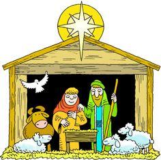 nativity scene clip art 3 jpg 3300 2504 merry christmas rh pinterest com