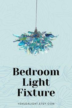 Chandelier Bedroom, Hanging Chandelier, Bedroom Lighting, Unique Chandelier, Bedroom Ceiling, Contemporary Light Fixtures, Modern Lighting, Bedroom Light Fixtures, Sea Colour