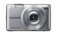 """Fujifilm FinePix JX500 Digital Camera JX500 (Silver) by Fuji. $889.59. The JX500 camera features a 2.7"""" LCD screen that's been redesigned to be seen easier in sunlight when users are composing pictures or reviewing their shots. It also comes equipped with a 5x Fujinon optical zoom lens (26-130mm equivalent to a 35mm camera) with a powerful 14MP sensor designed to capture scenes packed with detail. Smile & Shoot and Blink Detection ensure that users never miss a memor..."""