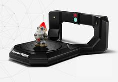MakerBot's $1,400 Digitizer, which turns real objects into 3D designs, is shipping in October