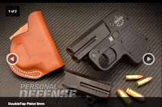 Pocket Pistols's Handgun Preview of the DoubleTap Pocket Pistol 9mm /.45 ACP.... #doubletap #handgun #concealedcarry
