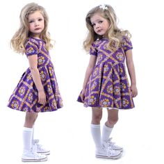 Rock Your Kid Summer 14 / 15 | Purple Haze Waisted Dress | www.rockyourbaby.com