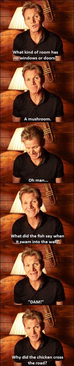 Gordon Ramsay joking around... - The Meta Picture