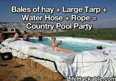 This would be so much fun... Now where do we find hay bales in Akron OH
