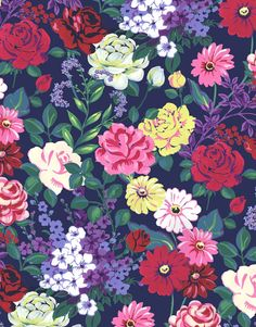 BlanketStitch - Painterly floral