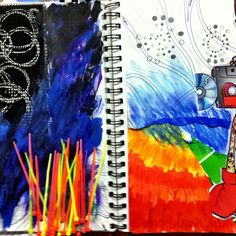 Visual Journals #2 - room 416