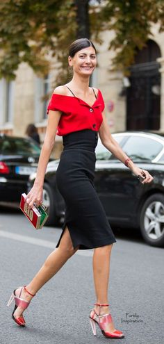 Giovanna Battaglia, Glamour Paris Blog | Pure Inspiration
