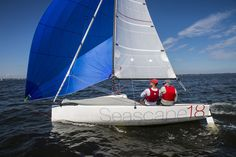 Easily sailed by just two people, the Seascape 18 is a fast, fun and versatile racer.