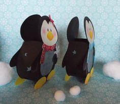 Windlichter - Laterne Pinguin Pepe & Paula (Windlicht) - ein Designerstück von Fraeulein-Knuffig bei DaWanda