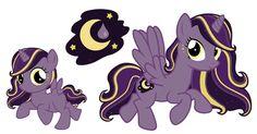 My Little Pony Adoptable - Moon Drop by chunk07x.deviantart.com on @deviantART