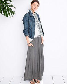 Favorite Maxi Knit Skirt