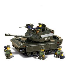 Lego tanks? Miniature dudes with bazookas? Aww yeah.