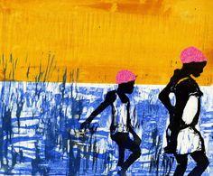 """The Black Cool"" Art by Jay Katelansky http://cargocollective.com/Jkatelansky/ http://shiftingself.tumblr.com/"