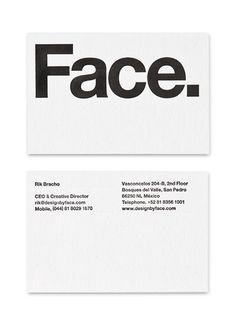 Face. Branding. on Behance