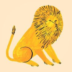 Have a ROARsome Saturday!  Illustration by @jen.collins  #illustration #drawing #sketch #doodle #art #creative #lion #saturday