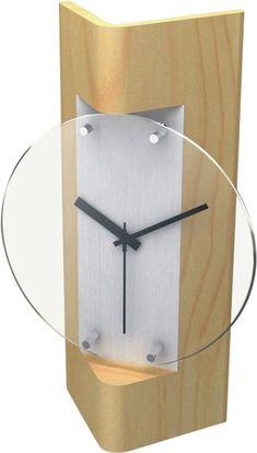 wood Alarm Clock | Wooden Wall Clock (F6490R)