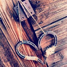 Rustic Wedding Heart Horseshoe Decoration by DownInTheBoondocks, $32.00