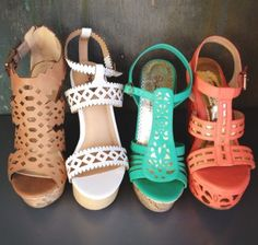 Summer wedges- I'll take them all please and thank you