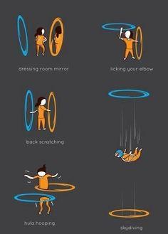 Portal tricks