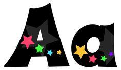 Stargazer Lettering | Alphabet Lettering