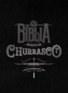 The Bible of Barbecue by Lucas Reis, via Behance