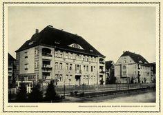 1913 Print House Association Official Berlin-Zehlendorf Paul Mebes Building DKU1