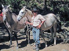 Marvin and his horses in Monteverde, #CostaRica | monteverdetours.com