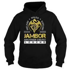 JAMBOR Legend - JAMBOR Last Name, Surname T-Shirt
