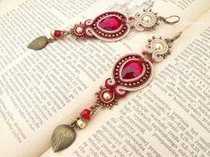 asy dwa - kier - kolczyki sutasz (proj. floressy), do kupienia w DecoBazaar.com