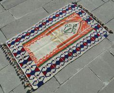 Anatolia Turkish Rug x Hand Woven Wool Kayseri Kilim x Turkish Kilim Rugs, Wool Area Rugs, Bohemian Rug, Hand Weaving, Carpets, Ebay, Farmhouse Rugs, Hand Knitting, Rugs
