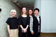 Judita Panoviene, Giedre Stabingyte, Kristina Agintaite (the Lithuanian Culture Institute), Elena Khilkova (Atelier 1) #interdema #popupstore #temporarystore #event #fashion #design #Kiev #мероприятие #мода #дизайн