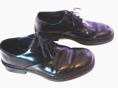 Kenneth Cole New York Modern Casual Oxfords Leather Shoes Made In Italy Sz 10.5 Free Shipping!