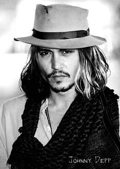 Wide brim hats Johnny  long hair and style Best Actor fecfd2fbb12
