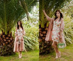 Style Moi Hair Crown, Style Moi Dress, Front Row Shop Duster Coat, Style Moi Bracelet, Style Moi Bag, Mango Sandals