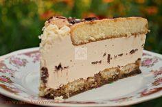 Tort cu piscoturi si ness - CAIETUL CU RETETE Romanian Desserts, Cake Recipes, Dessert Recipes, Something Sweet, Cake Cookies, No Bake Cake, Vanilla Cake, Cheesecake, Food And Drink